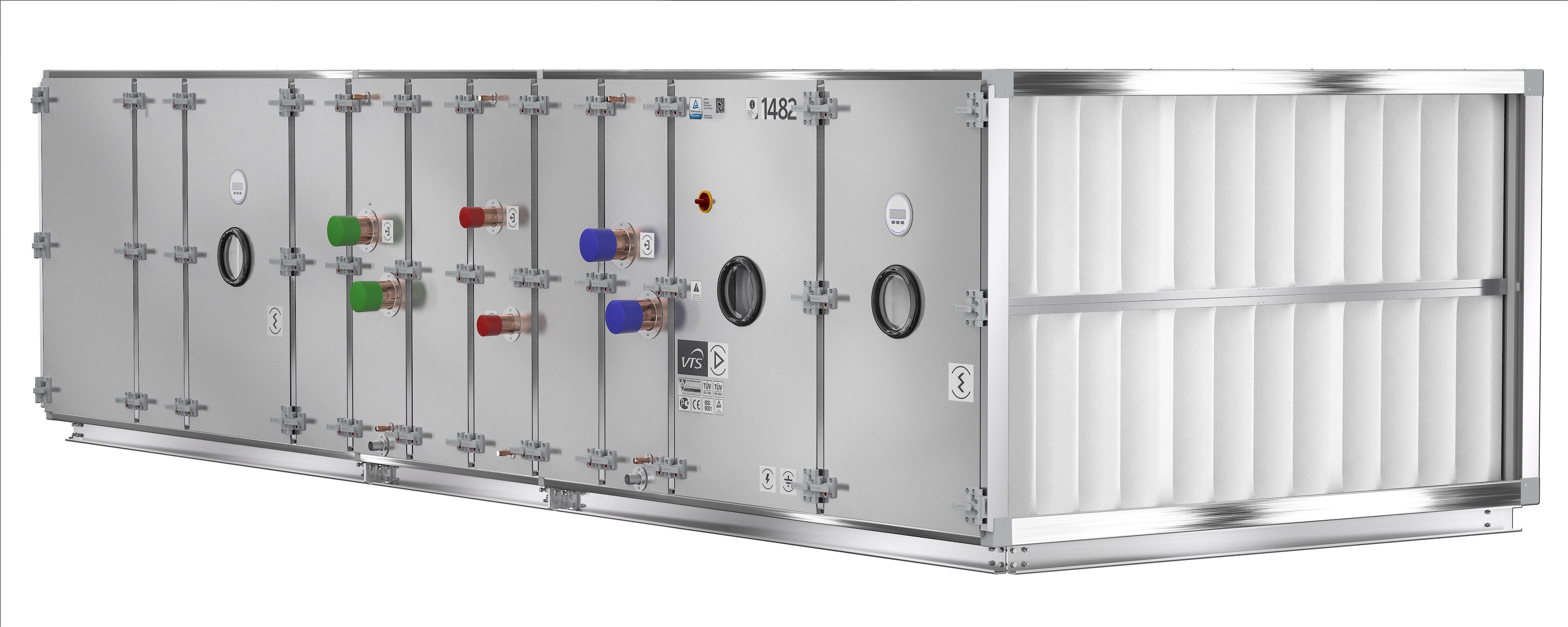 Ventus 2016 in hygienic version vts for Indoor unit design