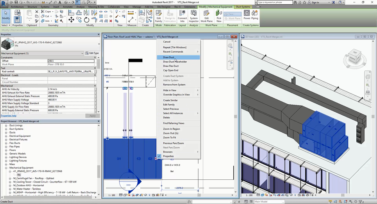 VTS BIM - A new approach to digital models of air-handling units - VTS